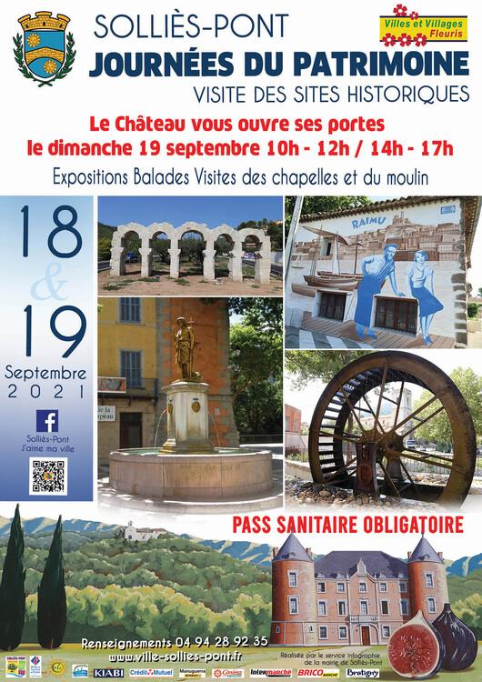 Journées du patrimoine Culture Solliès-Pont