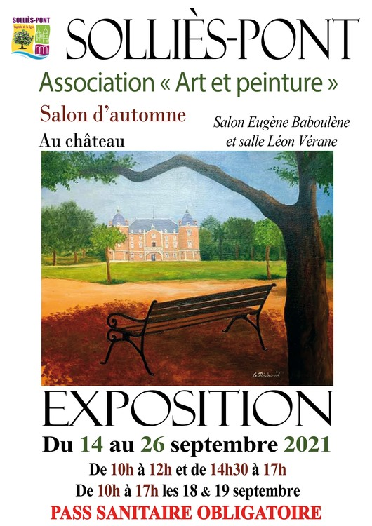 Salon d'automne Art et peinture Culture Salles du château - Solliès-Pont
