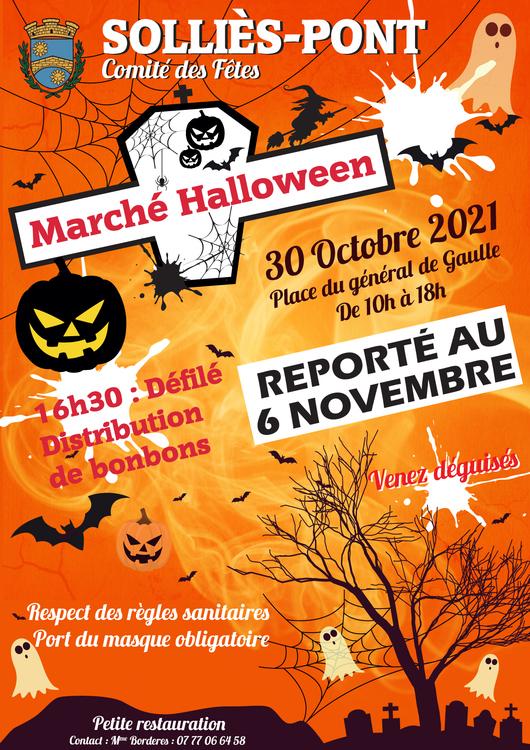Halloween Divers Place du général de Gaulle - Solliès-Pont