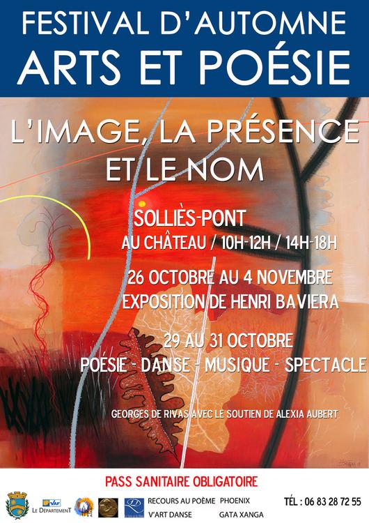 Festival d'automne Arts et poésie Culture Au château - Solliès-Pont